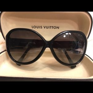 8e38089f8cb Auth Louis Vuitton SOUPÇON CAT EYE SUNGLASSES